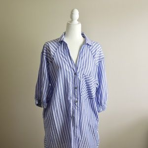 🧡ZARA Button down dress